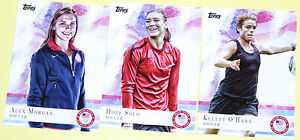 Ohara Morgan New Fashion 2012 Topps Olympics Cards 3-card Women's Soccer Lot Solo