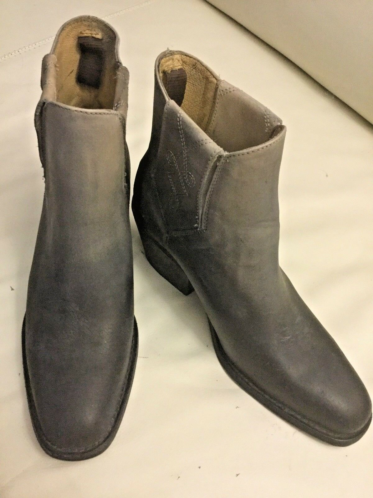 NEW  Faryl Robin + Free People Womens  Dover Distressed  Boots from Free Peopl