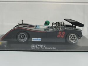 Vanquish P167 'can Am Classic Car' Noir # 52 Ca71 1:32 Slot New Old Stock Boxed 8436023400817