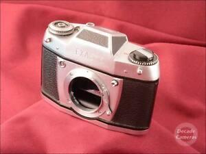 Exa 500 35mm Film Camera inc Brown Case - VGC - 580