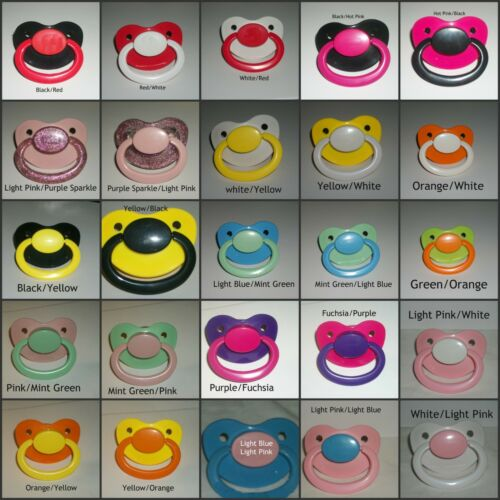 New Large Pacifier CUSTOM MADE 4 YOU anonymous listing #3 Princess