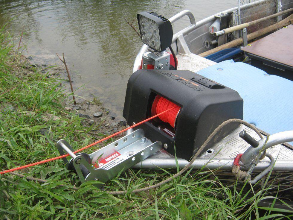 STRONGER elektrische Ankerwinde SH-35 SH-35s für für für Anker bis 15 kg MotorStiefel 2bfd81