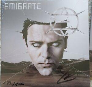 Emigrate (Richard Kruspe Rammstein) -  Exklusiv Handsignierte 2 Vinyl LP 1000