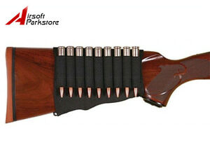 5//8// 9//14 Shell Rifle Cartridge Holder Ammo Shotgun Pouch Hunting Gun Buttstock