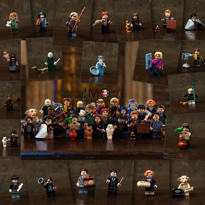 LEGO Harry Potter & Fantastic Beasts Minifigures COMPLETE SET 22 FACTORY SEALED
