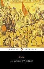 The Conquest of New Spain (Penguin Classics), Bernal Diaz del Castillo, Acceptab