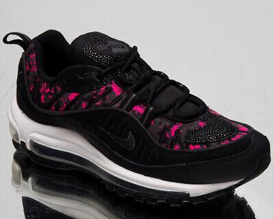 Nike Air Max 98 Premium Camouflage Femmes Noir Vie Chaussures Baskets CI2672 001 | eBay