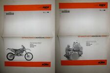 KTM MY 2005 250 SX-250 EXC-300 EXC-300 MXC Ersatzteilkatalog Spare parts manual