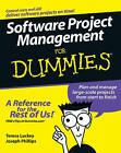Software Project Management For Dummies by Joseph Phillips, Teresa Luckey (Paperback, 2006)
