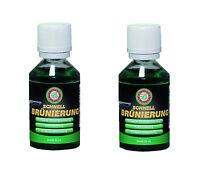2x 50 Ml Ballistol Klever Quickbrowning (cold Browning) Schnell- Kaltbrünierung