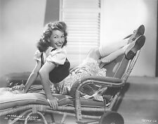 ACTRESS MARGARET HAYES BEAUTIFUL LEGS IN THE AIR LEGGY 8x10 PHOTO A-MH1