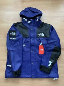 Supreme X The North Face Leather Mountain Parka Royal Size Medium
