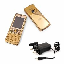 New Condition Nokia 6300 Gold Unlocked Camera Bluetooth Classic Mobile Phone