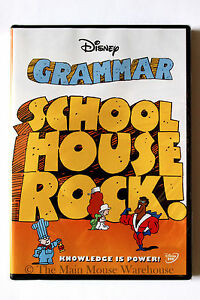 Schoolhouse-Rock-GRAMMAR-Sytnax-Songs-Disney-Musical-Children-039-s-Educational-DVD