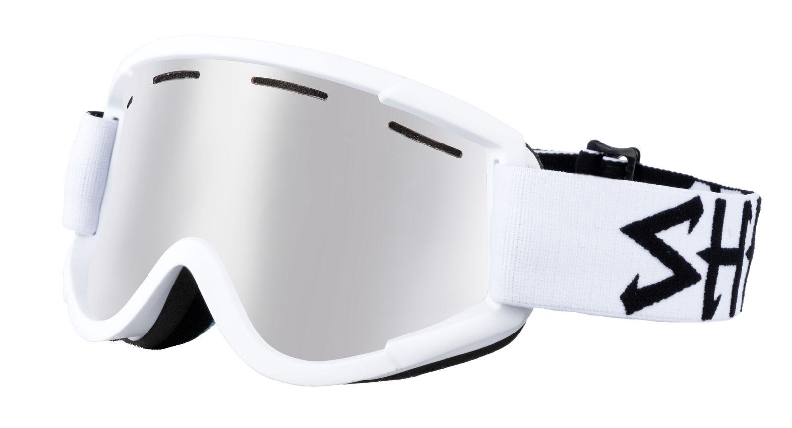 Shred Skibrille Snowboardbrille NASTIFY BLEACH PLATINUM white
