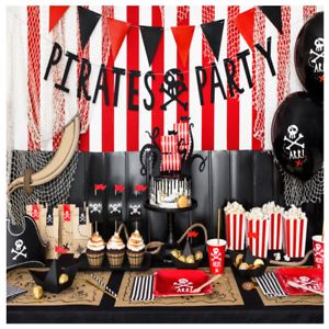 Details about PIRATE PARTY DECORATIONS - DECORATIONS FOR A PIRATE THEMED  PARTY