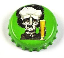 Raven Beer Bier Edgar Allan Poe Kronkorken USA Soda Bottle Cap grün