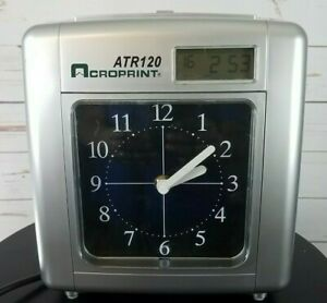 Acroprint-ATR120-Electronic-Top-Loading-Time-Recorder-Time-Clock