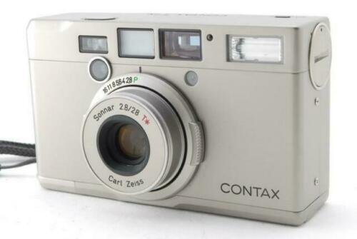 w// T14 Auto Flash T1 CONTAX T Point /& Shoot 35mm Film Camera