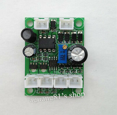 12V TTL 650nm 532nm Green & Red Laser Diode LD Driver Power Supply Stage Light