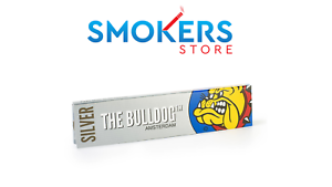 Silver-The-Bulldog-Amsterdam-King-Size-Slim-Rolling-Papers-Free-Delivery