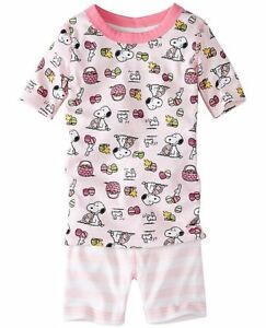 26a5a5c6102 140 Discontinued Hanna Andersson Peanuts Snoopy Spring Easter Pajamas PJs