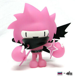 SPIKI-NINJA-8-INCH-EXCLUSIVE-PURPLE-DESIGNER-TOY-FIGURE-NAKANARI-AND-KUSO-VINYL