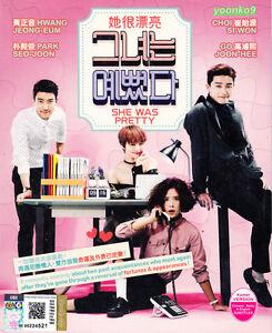 She Was Pretty - Korean Drama (TV series) DVD Good English ...