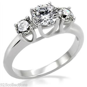 STAINLESS STEEL 316 HIGH POLISHED 25mm WIDE SQUARE FASHION RING WOMEN/'S SZ 5-10