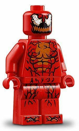 Lego Marvel Carnage Minifig SH541 from 76113 Brand New