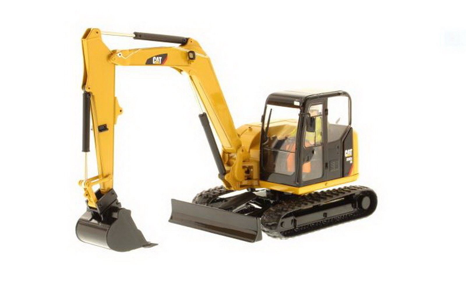 1 32 dm Caterpillar Cat 308E2 CR sb Mini excavadora hidráulica Diecast Modelo 85239