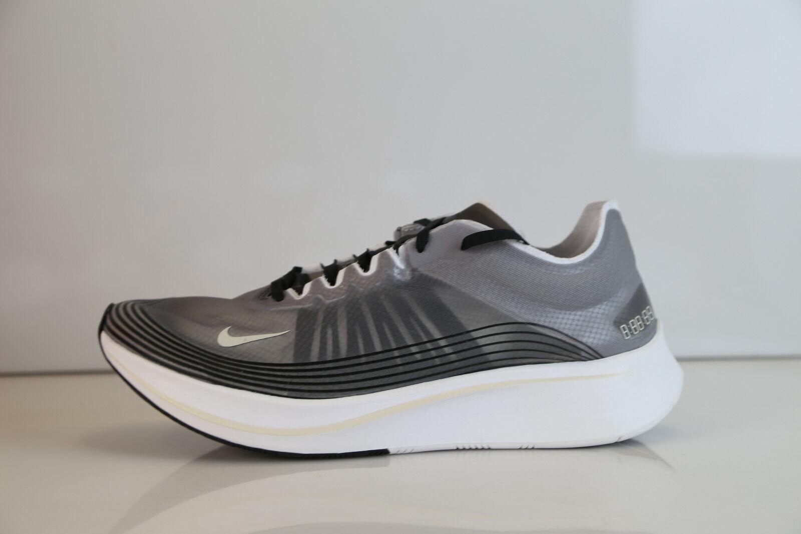 Nike Zoom Fly SP Black Light Bone AJ9282-001 9-13