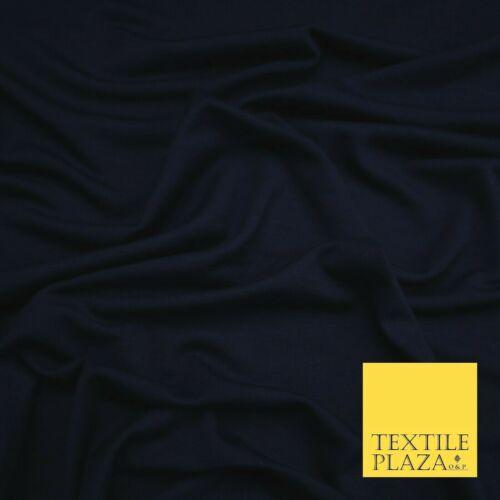 Frambuesa Azul Marino Borgoña Suave Tejido Elástico Lycra Jersey Llano caritativa Vestido
