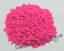 50g Pink Mini Stones Aquarium Fish Tank Gravel Substrate Pebbles Rock Decorative