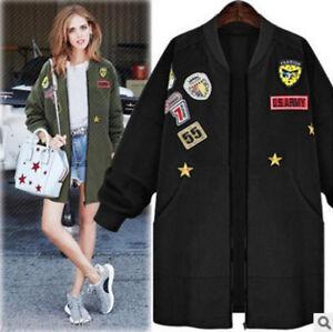 Womens-039-Autumn-Winter-Warm-Trench-Coat-Long-Jacket-Windbreaker-Casual-Outwear