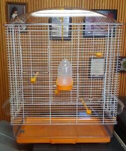 ANITA BIRD CAGE #10710011 ORANGE PERFECT SIZE FOR COCKATIELS