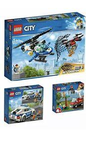 NEUF-LEGO-CITY-POLICE-Bundle-3-en-1-Super-Pack-66619-comprend-60207-60239-60212