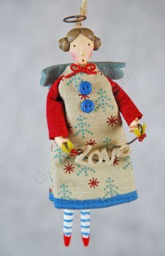 Gisela Graham Engel Elfe Folk Angel Weihnachtsdeko Christbaumschmuck