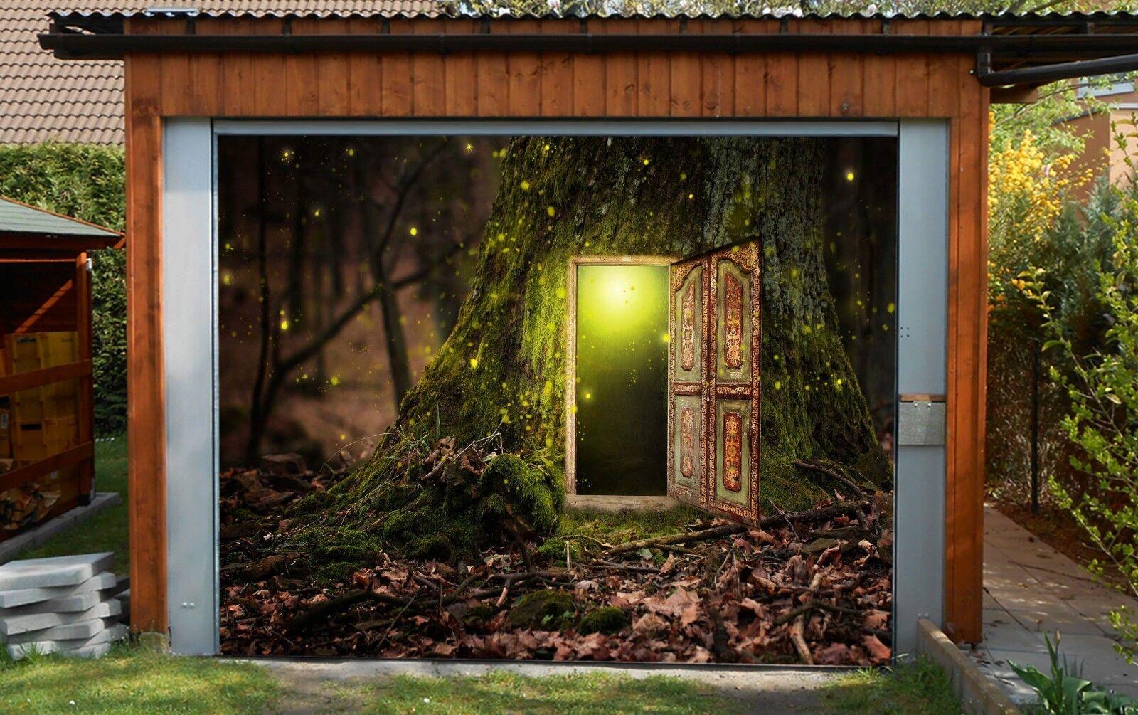 3D Magical tree 34 Garage Door Murals Wall Print Decal Wall Deco AJ WALLPAPER UK