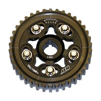 AEM TRU-TIME CAM GEAR 23-804BK 96-00 HONDA CIVIC DEL SOL SOHC D16Y7 D16Y8