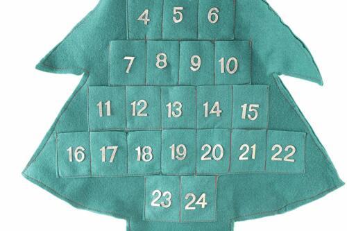 Toyland ® 80 cm remplir votre propre arbre de Noël Tissu ADVENT CALENDAR