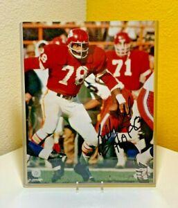 Bobby Bell Kansa City Chiefs Hall of Famer 8 x 10 Autograph Photo - No COA