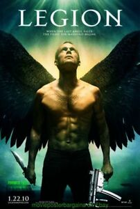 Legion-Film-Poster-2-Sided-Originale-27x40-Advance-Stile-Paul-Bettany-2009