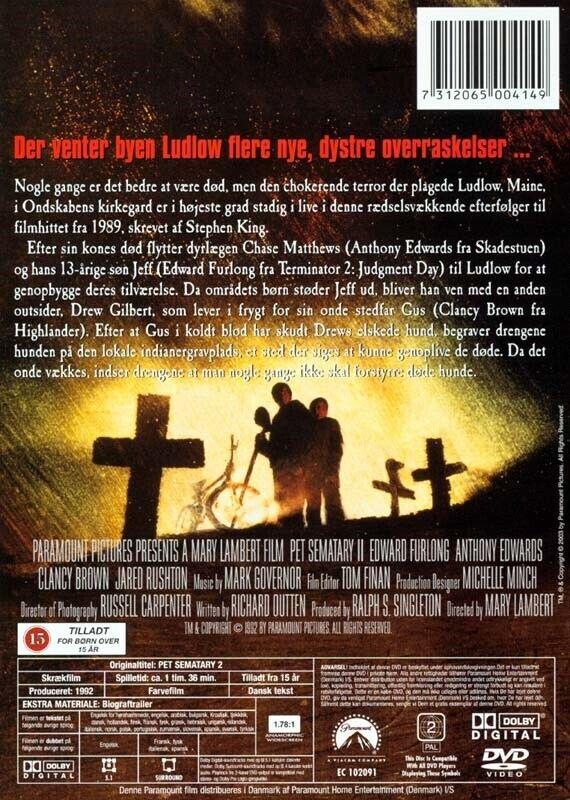 Ondskabens Kirkegård 2 (Pet Sematary Two), instruktør