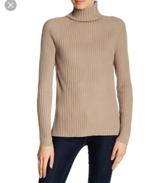 cacc4ba5a72 Lucca Couture Beige Women's Size Medium Turtleneck Sweater