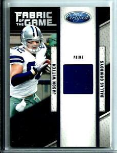 free shipping 0c617 6615e Details about 2011 Certified Fabric Of The Game Worn Jersey Jason Witten SP  D # 31/50 Cowboys