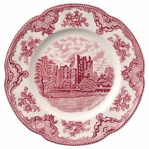 Image is loading Johnson-Brothers-Old-Britain-Castles-Pink-Dinner-Plates-  sc 1 st  eBay & Johnson Brothers Old Britain Castles Pink Dinner Plates SET OF 4 NEW ...