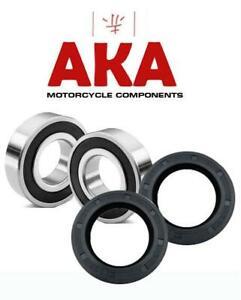 Front Wheel Bearings & SEALS for Suzuki GSXR600 GSXR750, GSXR1000, GSX1400