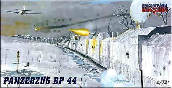 Mach 2 Armageddon 1 72 Panzerzug BP 44 AR02