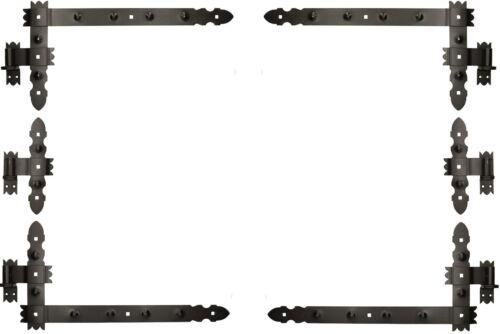 Winkelscharniere Türband Türbänder Kloben Winkelband Winkelbänder 6 tlg